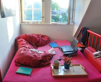 Schlaf-Wohn-Arbeitscouch