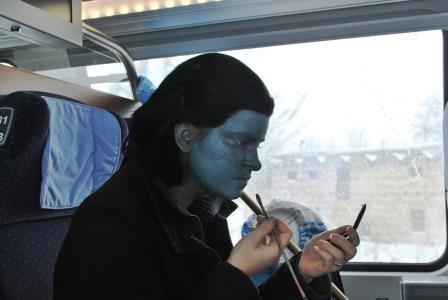 Loki im Zug DSC_2753