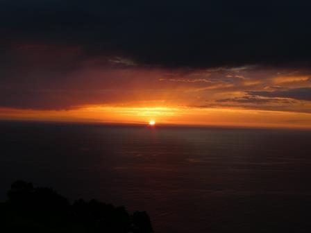 Puntagorda Sonnenuntergang P1010473