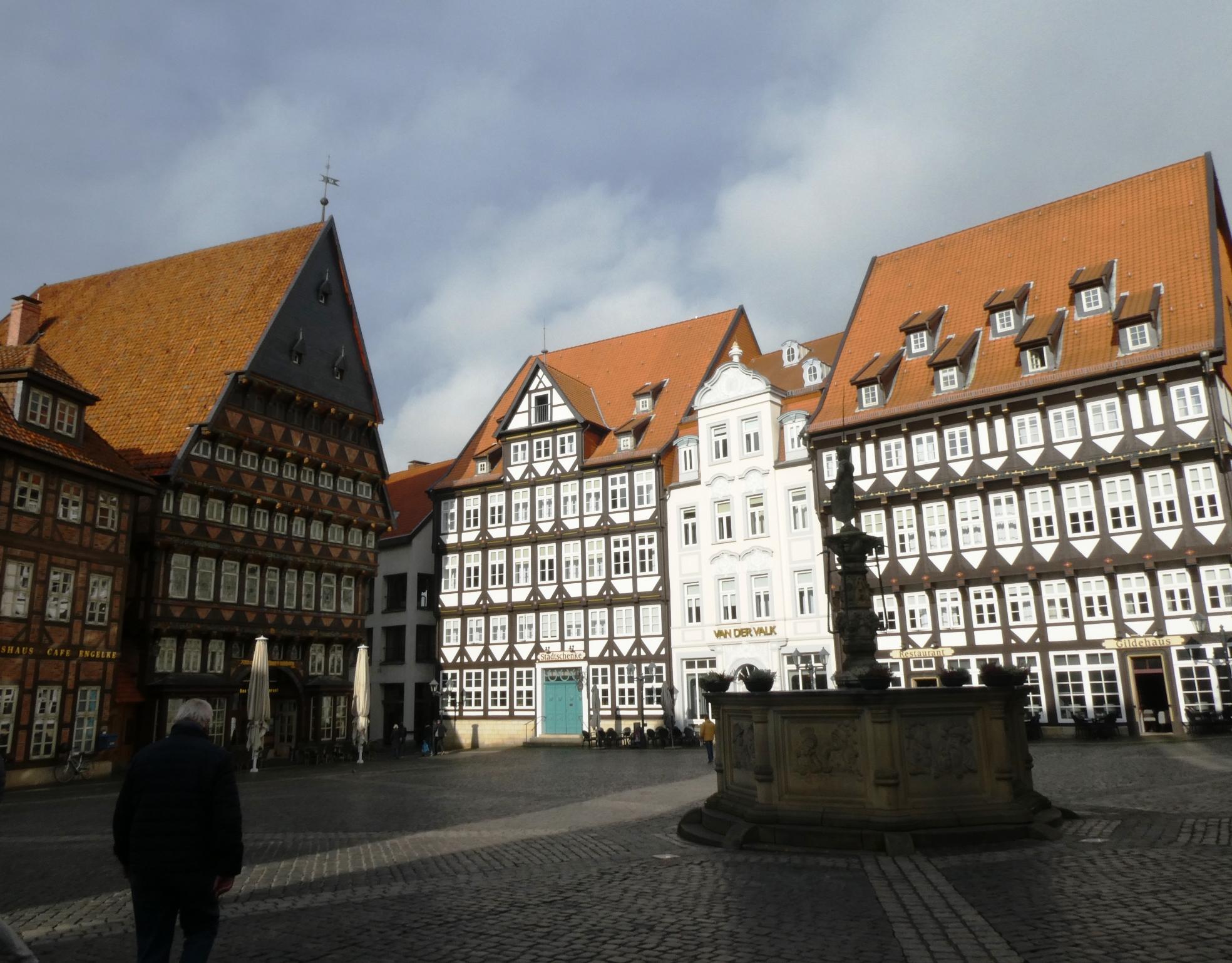 Hildesheim Marktplatz P1030734